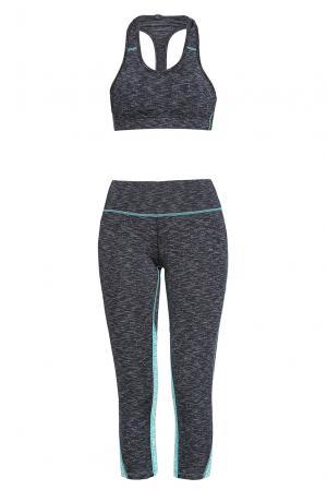 Компрессионный сет TAYTEN из спортивного топа и леггинсов-капри 189623 Khongboon Sportswear