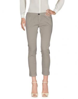 Повседневные брюки RRD. Цвет: свинцово-серый