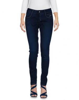Джинсовые брюки 9.2 BY CARLO CHIONNA. Цвет: темно-синий