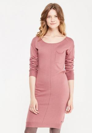 Платье Rifle. Цвет: розовый