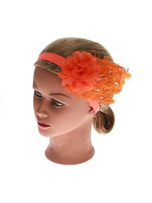 Повязка Jane Flo. Цвет: оранжевый