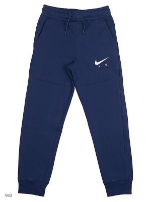 Брюки B NK AIR PANT Nike. Цвет: синий