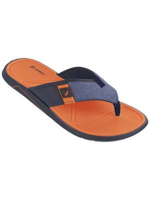Пантолеты Rider. Цвет: оранжевый, синий