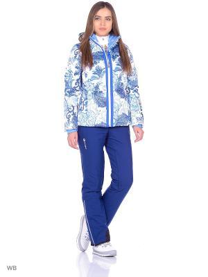 Куртка Stayer. Цвет: синий, белый, голубой, сливовый