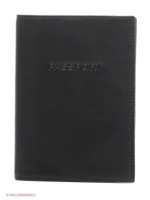 Обложка для паспорта Picard. Цвет: черный