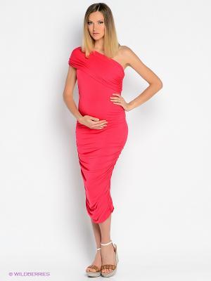 Платье Isabella Oliver. Цвет: малиновый
