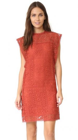 Платье Madness Ministry of Style. Цвет: оранжевый