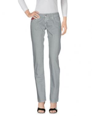 Джинсовые брюки UNLIMITED. Цвет: серый