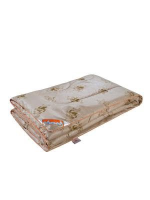 Одеяло Караван 200*220см. 1st Home. Цвет: светло-коричневый, золотистый