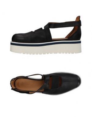 Туфли DONDUP. Цвет: черный