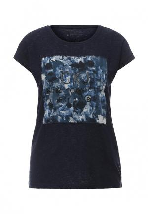 Футболка Calvin Klein Jeans. Цвет: синий