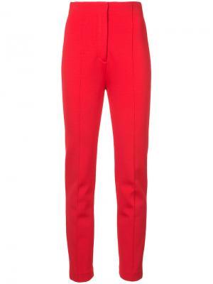 Строгие брюки Dvf Diane Von Furstenberg. Цвет: красный