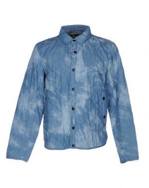 Джинсовая верхняя одежда KILT HERITAGE. Цвет: синий