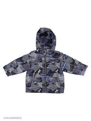 Куртка Hippo Hoppo. Цвет: темно-серый