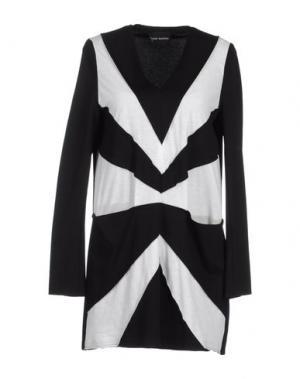 Короткое платье MAURO GASPERI. Цвет: белый