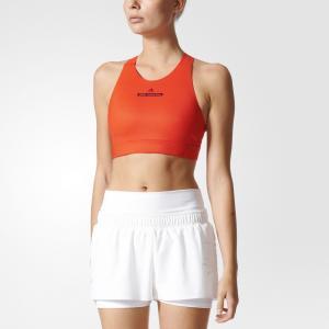 Спортивный бра-топ THE High Intensity  by Stella McCartney adidas. Цвет: оранжевый