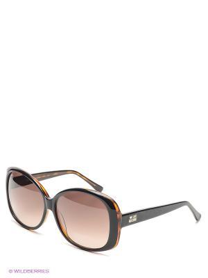 Солнцезащитные очки ML 518S 02 MOSCHINO. Цвет: коричневый