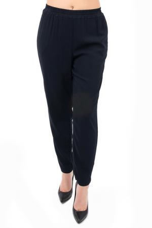 Зауженные брюки EUROPEAN CULTURE. Цвет: темно-синий