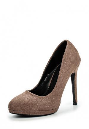 Туфли Donna Moda. Цвет: коричневый