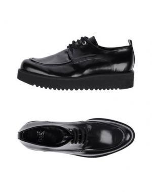 Обувь на шнурках NAIF. Цвет: черный