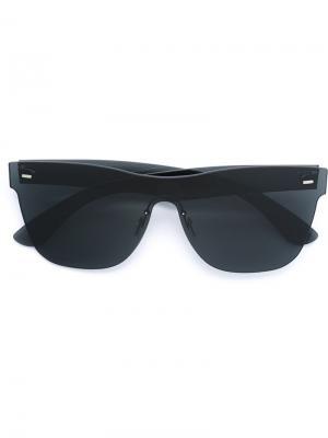 Солнцезащитные очки Tuttolente Classic Retrosuperfuture. Цвет: чёрный
