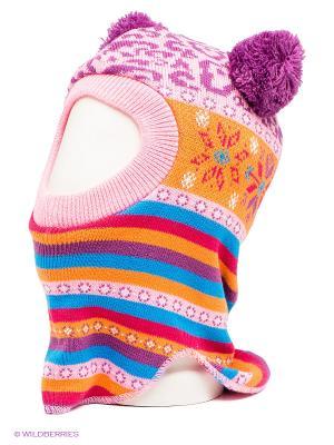 Шапка Maxval. Цвет: розовый, голубой, оранжевый, фиолетовый