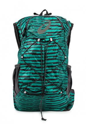 Рюкзак ASICS. Цвет: зеленый