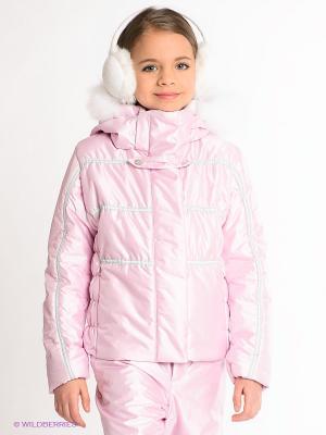Куртка CACAO. Цвет: розовый
