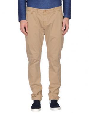 Повседневные брюки STAFF JEANS & CO.. Цвет: верблюжий
