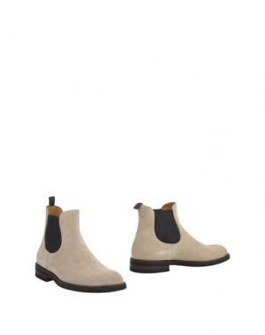 Полусапоги и высокие ботинки SUTOR MANTELLASSI. Цвет: бежевый