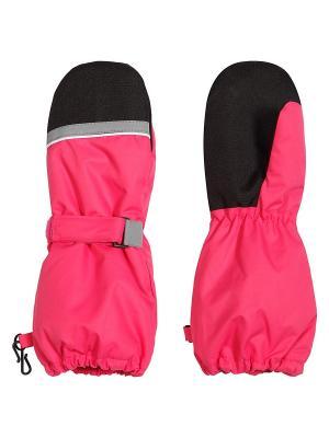 Варежки Icepeak. Цвет: розовый