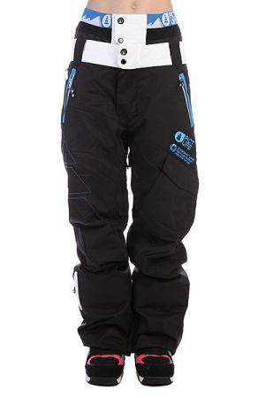 Штаны сноубордические женские  Pant Smack Black Picture Organic. Цвет: черный