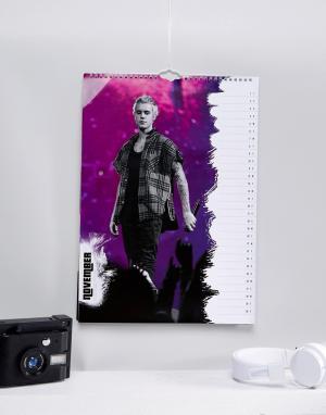 Books Официальный календарь на 2018 Justin Bieber. Цвет: мульти