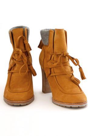 Ботинки CARLO PAZOLINI. Цвет: оранжевый