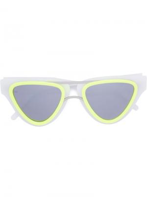 Sodapop V sunglasses Smoke X Mirrors. Цвет: телесный