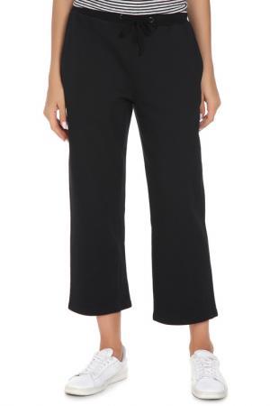 Укороченные брюки с поясом на резинке Cyrille Gassiline. Цвет: черный