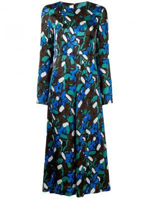 Платье с рисунком Goen.J. Цвет: многоцветный
