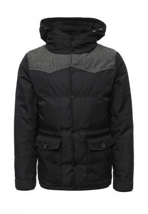 Куртка утепленная Urban Classics. Цвет: черный