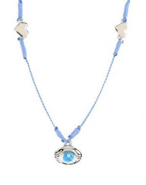 Ожерелье VENESSA ARIZAGA. Цвет: пастельно-синий