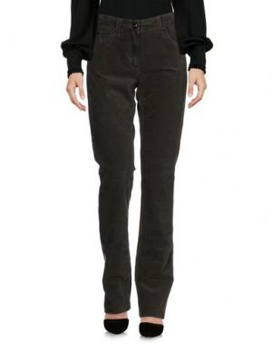 Повседневные брюки LAURÈL. Цвет: зеленый-милитари
