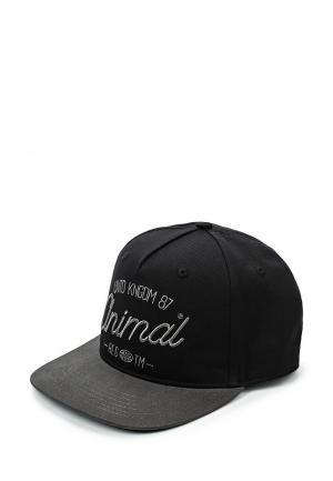 Бейсболка Animal. Цвет: черный