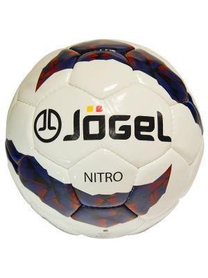 Мяч футбольный Jogel JS-700 Nitro №5. Цвет: синий, бордовый, черный