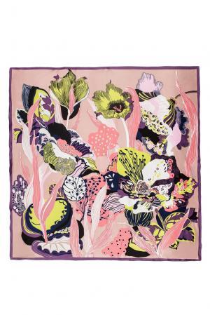 Шелковый платок 183383 Moltini. Цвет: разноцветный