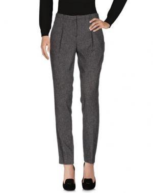 Повседневные брюки SECOND FEMALE. Цвет: стальной серый