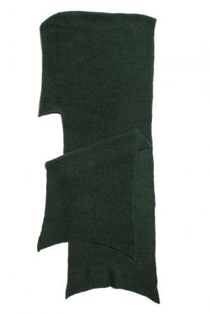 Капюшон из шерсти 153306 Norsoyan. Цвет: зеленый