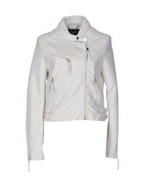 Куртка KORALLINE. Цвет: белый