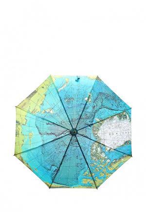 Зонт-трость Kawaii Factory. Цвет: голубой