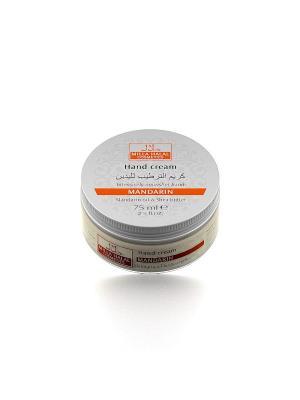 Крем для рук питательный с маслами мандарина и ши MANDARIN MILLA HALAL COSMETICS. Цвет: белый