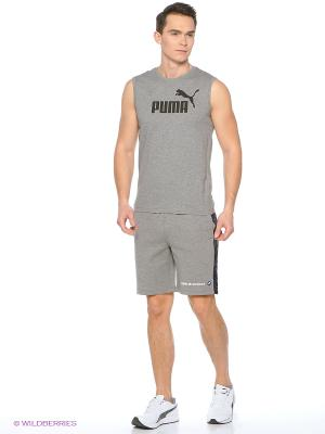 Шорты BMW MSP Sweat Shorts Puma. Цвет: серый