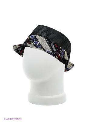 Шляпа Maxval. Цвет: черный, темно-коричневый